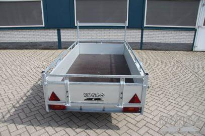 Loady bakaanhangwagen aluminium