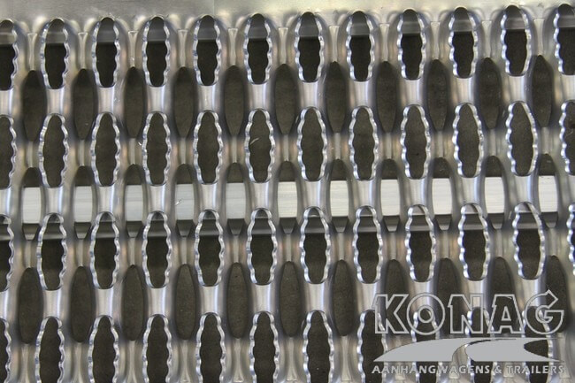 Aluminium gripprofiel oprijplaten Proline