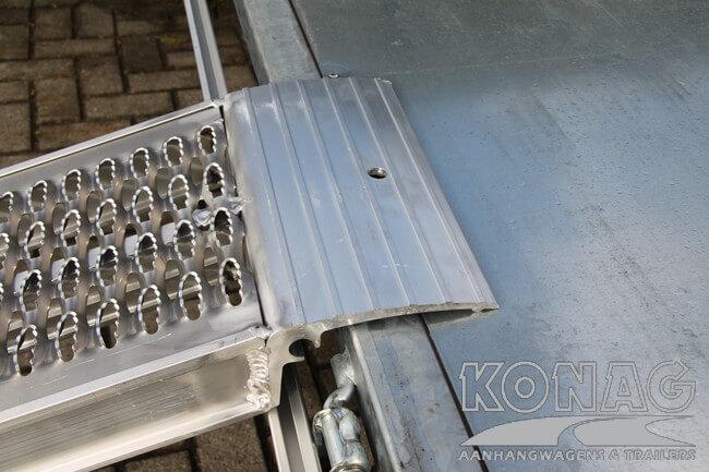 lipverbinding aluminium oprijplaten