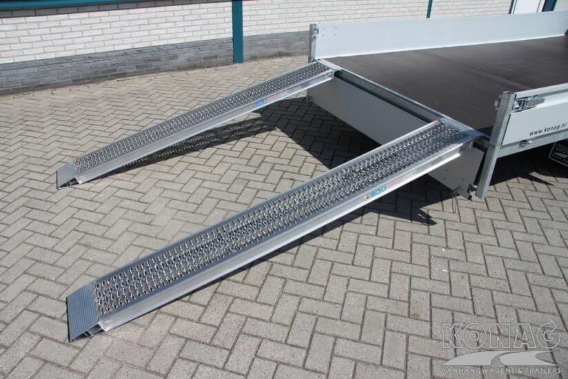 Aluminium rijplaten set 2800 kg draagvermogen