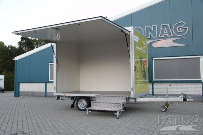 Konag beursaanhangwagen / presentatiewagen